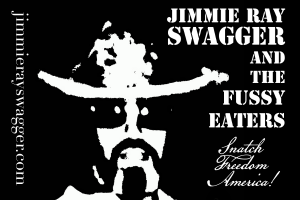 Jimmie Ray Swagger & the Fussy Eaters bumper sticker